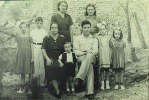Familia de Natalia Rodríguez y Agustín Guerra de Atenguillo