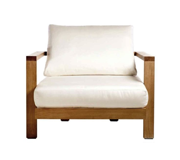 Buy Tru Pure Lounge Chair with Cushion Set by Henry Hall Designs - Made-to-Order designer Furniture from Dering Hall's collection of Contemporary Lounge Chairs.