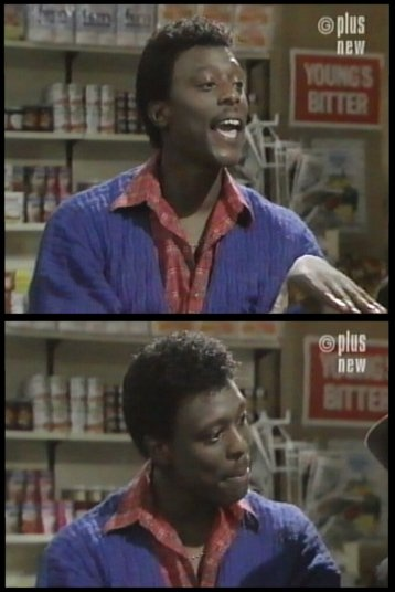 """Actor Eamonn Walker played Winston in the British Sitcom called """"In Sickness and in Health"""" (1985)"""