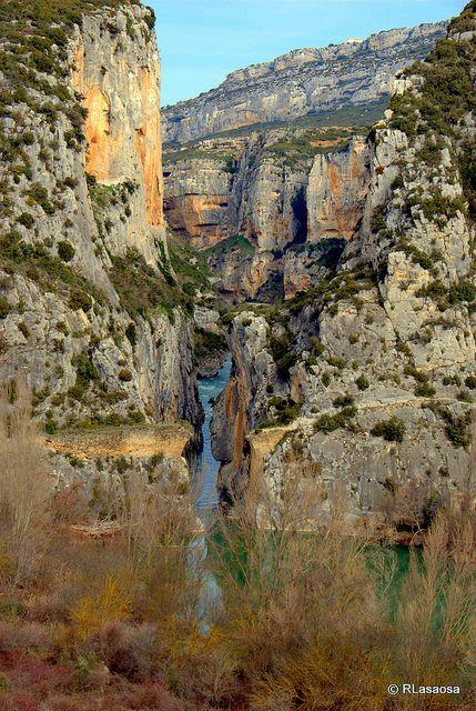 La Foz de Lumbier, estrecha garganta labrada por el río Irati declarada reserva…