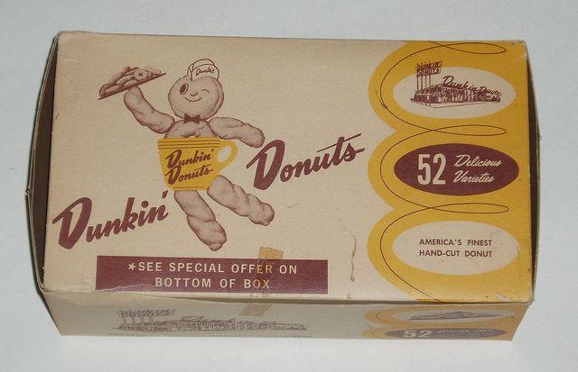 1950's Dunkin' Donuts box!