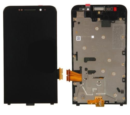 50.00$  Buy here - http://aijtk.worlditems.win/all/product.php?id=32644436439 - New LCD Display Touch Screen Digitizer with Frame Assembly Replacement for Blackberry Z30 free shipping