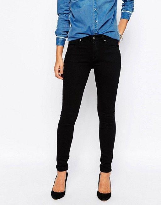 Pepe Jeans | Pepe Jeans Regent High Waist Skinny Jeans