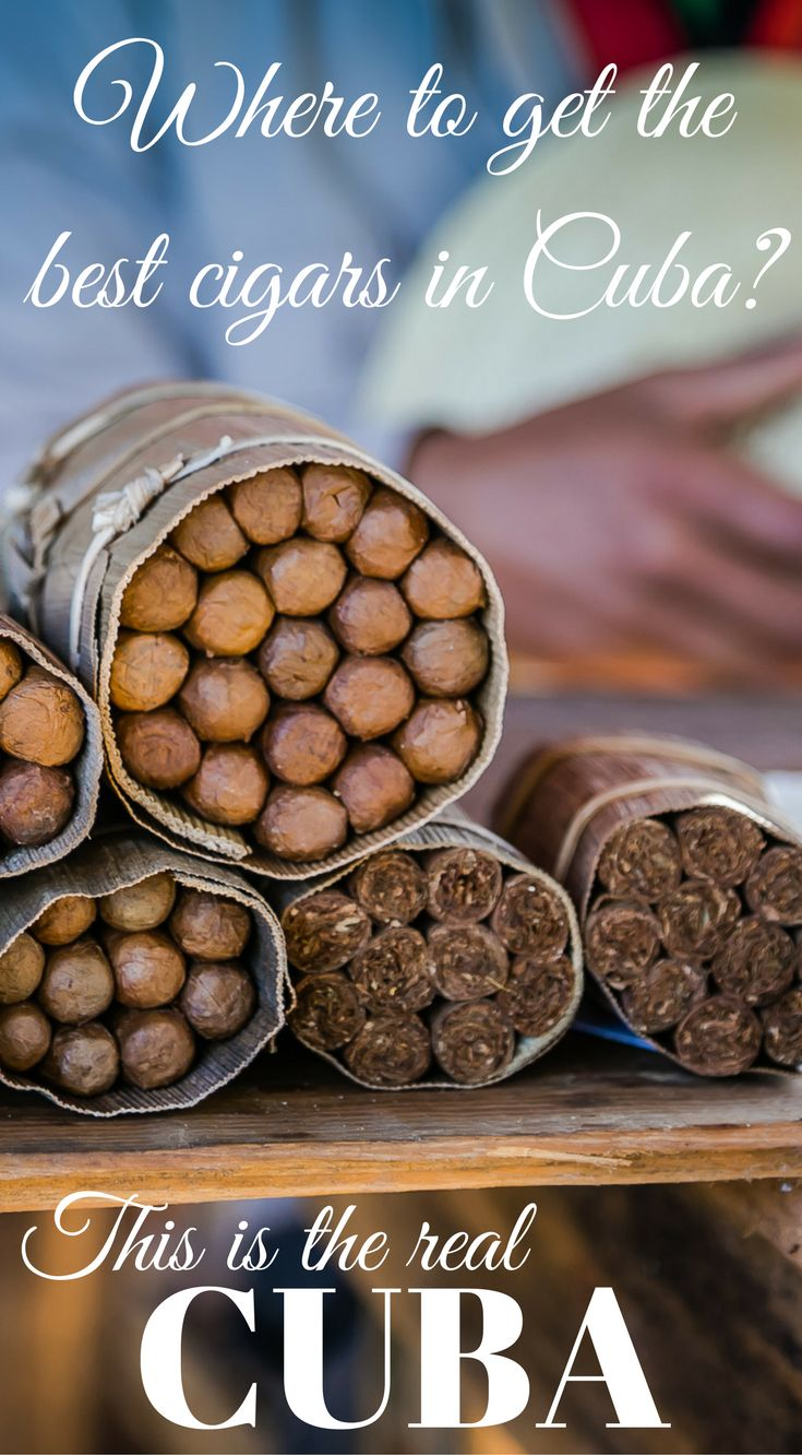Where to get the best cigars in Cuba? If you're a cigar aficionado, your bucket list has to include buying a Cuban cigar in Cuba. Click to read about your adventure to find the best cigars in Cuba at http://www.divergenttravelers.com/horseback-riding-vina