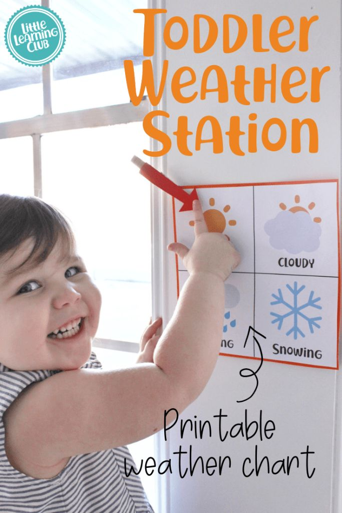 """What's the Weather?"" Free Weather Station Printable"