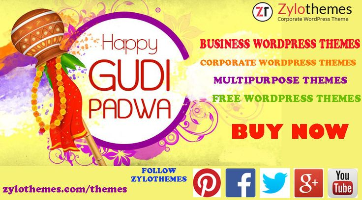 May this Gudi Padwa gives you success in your work & business.. Design your own professional corporate WordPress website with #Zylothemes #corporate #WordPressthemes https://goo.gl/T1UjlO Let's pray peace & harmony for our country in coming year on this day #Zylothemes wish you a very happy #GudiPadwa