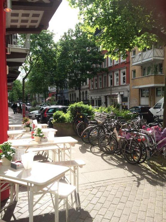 Hamburg Eimsbüttel im Sonnenschein. #Hamburg #WohneninHamburg
