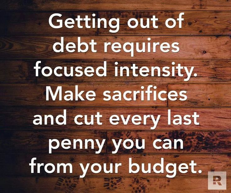 Getting out of debt...David Ramsey
