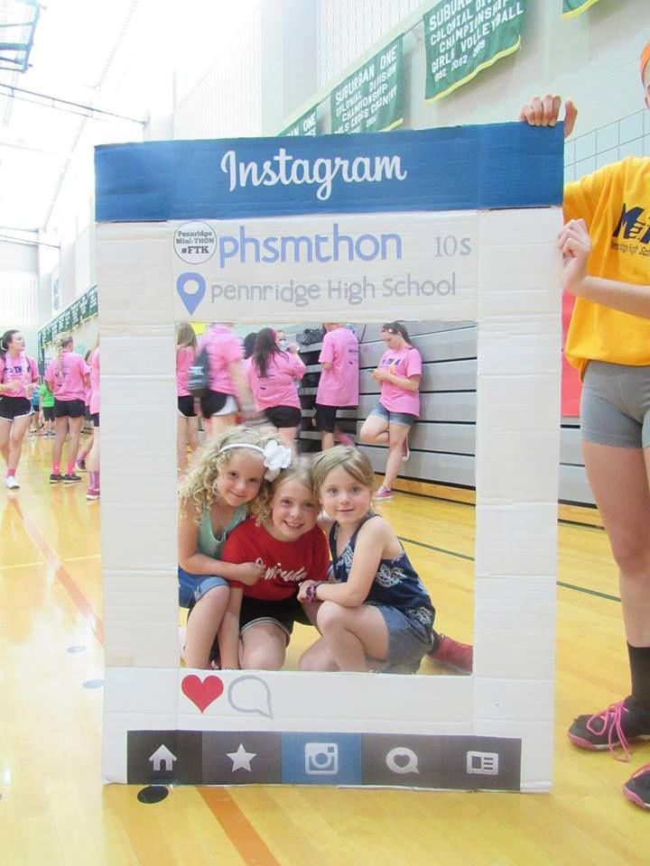 We love #Selfies! Pennridge High School students tag Instagram to new heights at their 2015 Mini-THON #FTK