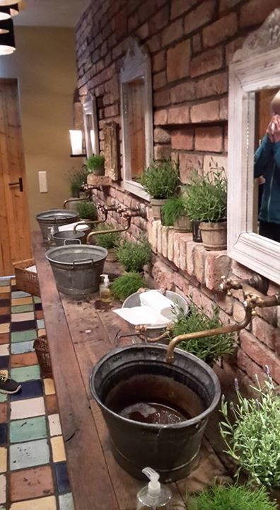 #interieur #bad #dagobertshausen #rustikal #outdoor #stein #waschbecken   – Outdoor Kuche | Todaypin