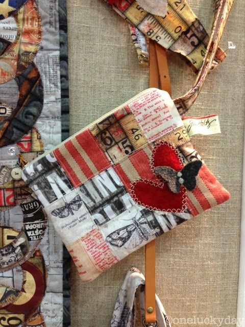 Houston Quilt Market - part 1...new Tim Holtz fabric