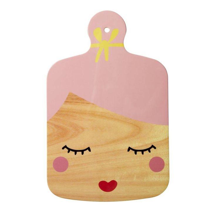 Rice Snijplank Pretty Face Roze