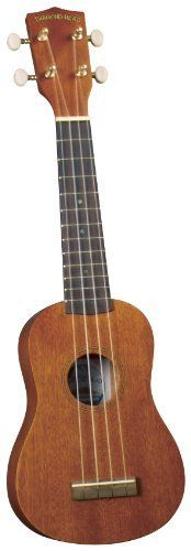 Diamond Head DU-200 Ukulele by Diamond Head. $46.45. DU-200 Soprano Ukulele Ukuleles are bigger than ever, so don't miss out on the craze and get yourself a new Diamond Head Ukulele today! Each Uke is carefully handcrafted from select mahogany and combined with a bridge and fingerboard made of rosewood for fantastic sound and excellent playability. Tuning is easy with reliable, guitar-style tuning machines that are perfect for the beginner or the advanced player. Top it al...