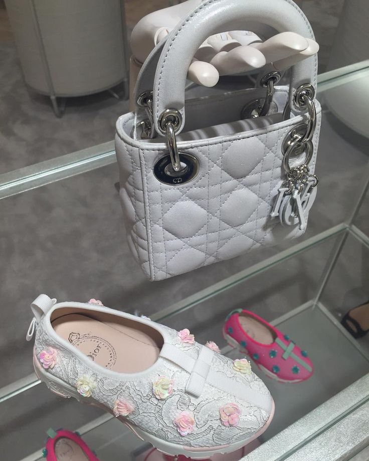 My future daughter be like.. #BabyDior 2016 collection @harrods. Fusion Sneakers £410 / Nano Lady Dior bag £1,350