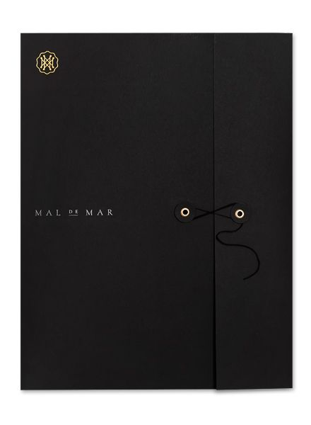 Folder feels more luxurious with fastening and rich colour