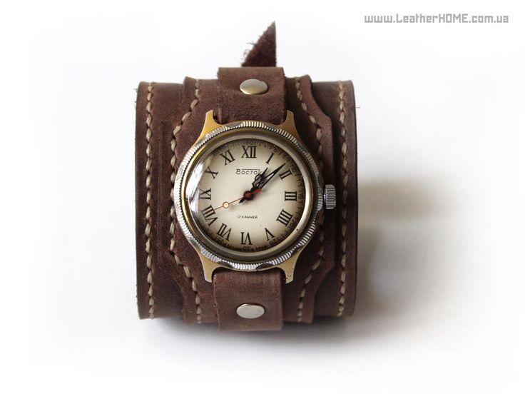 Ремешок для наручных часов. LeatherHOME, Кожа, изделия ручной работы
