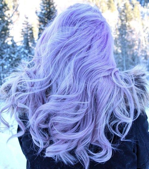 light+pastel+purple+hair
