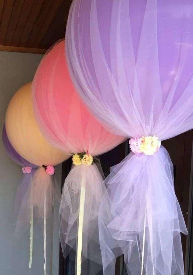 Decorazioni per il matrimonio in tulle (Foto 3/38) | Donna
