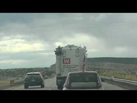"""US Army Corps of Engineers Emergency Operations Vehicle. We came across this US Army Corps of Engineers amazing truck with Emergency Operations on the side and back of the vehicle. Pretty impressive rig. Likely coming back from Houston. Was heading West near Flagstaff right by the Continetal Divide. October 2017.  """"Corps trains on new emergency operations vehicles"""" See - http://ift.tt/2BeGmIj --- US Army Corps of Engineers Emergency Operations Vehicle in Arizona"""