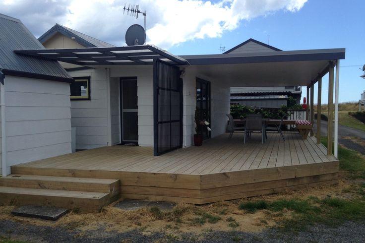 Old School Beach Bach in Papamoa, Tauranga District | Bookabach