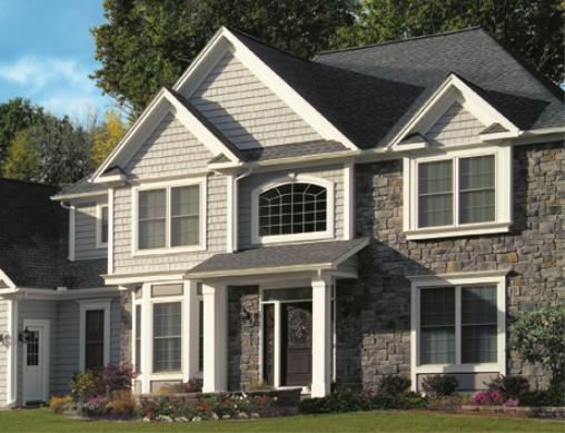 17 best images about house exterior on pinterest for How big is a square of siding