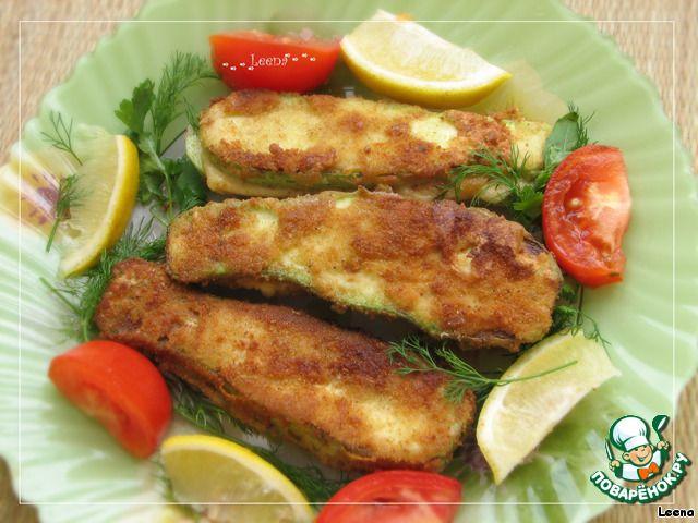 Кабачковые сэндвичи с сыром в хрустящем кляре ингредиенты