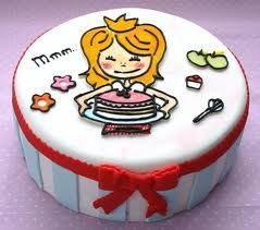 BLOND AMSTERDAM taart, hardsttikke leuk!