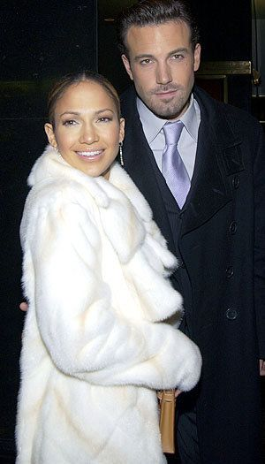 Ben has never looked so good and JLO always looks good...