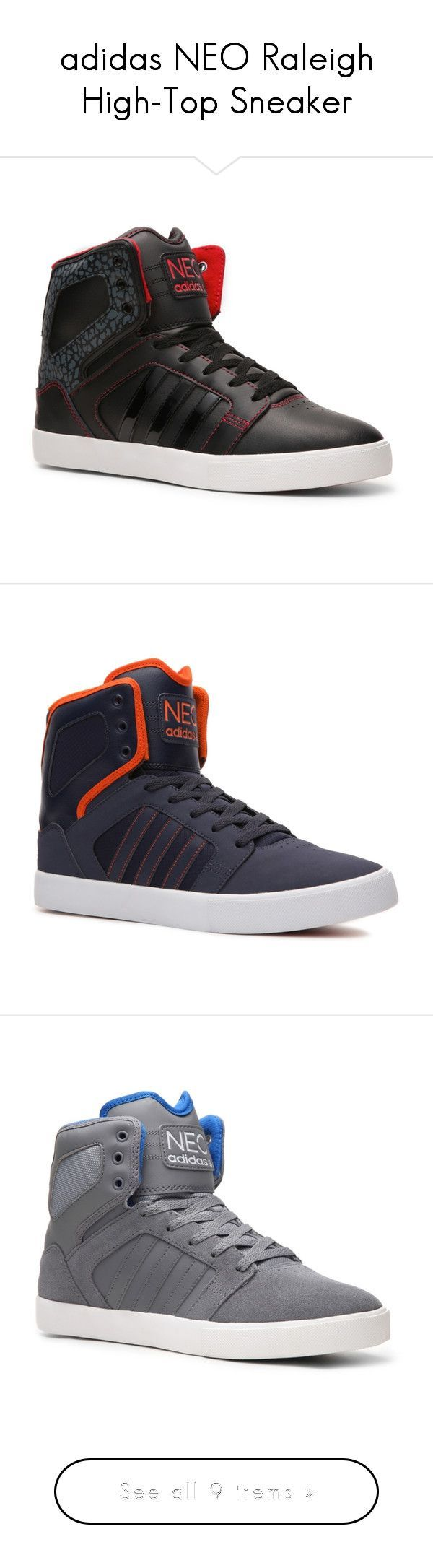 """""""adidas NEO Raleigh High-Top Sneaker"""" by rachkinou ❤ liked on Polyvore featuring shoes, sneakers, men, mens shoes, tenis, adidas shoes, high top trainers, adidas high tops, high top shoes and adidas - mens white shoes, buy shoes mens, mens tennis shoes"""