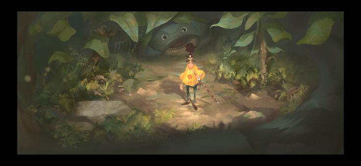 The Reward : Tales of Alethrion, Samuel Klughertz on ArtStation at https://www.artstation.com/artwork/9E8Kq