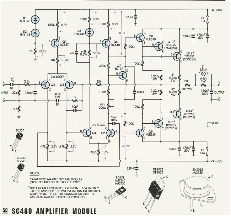 50w 70w power amplifier with 2n3055 \u0026 mj2955 electronic 9 Volt Audio Amplifier Circuit 50w 70w power amplifier with 2n3055 \u0026 mj2955 electronic pinterest circuit, circuit diagram and audio amplifier