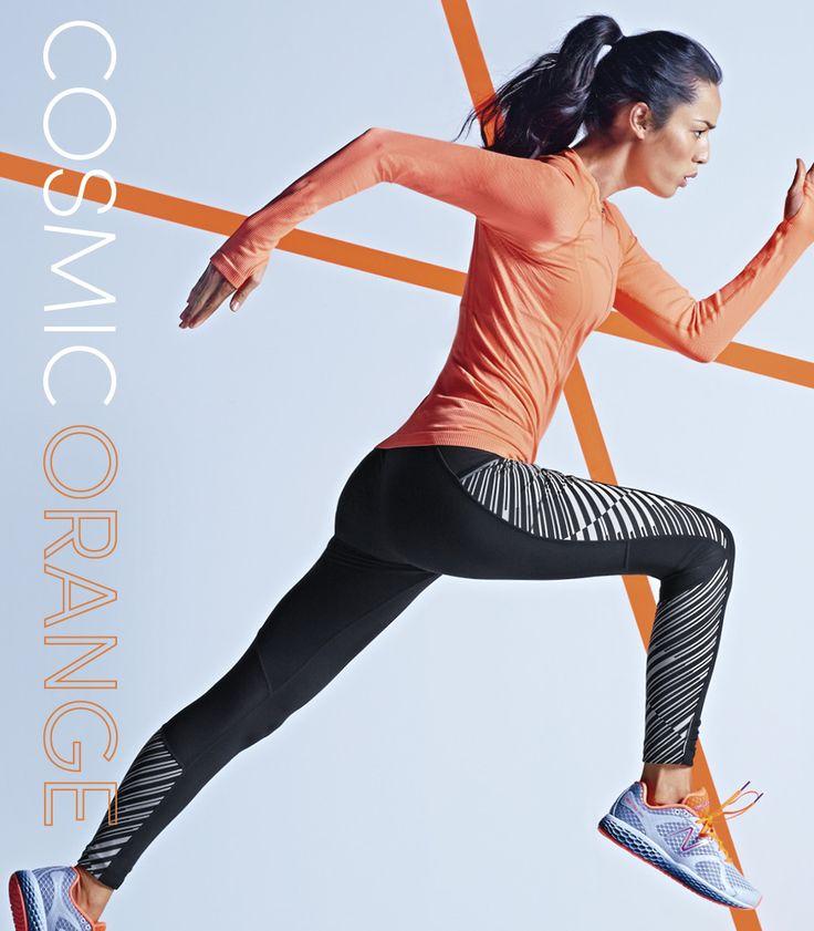 Cosmic Orange | Winter 2014 I love the contrast between the black and orange !!!
