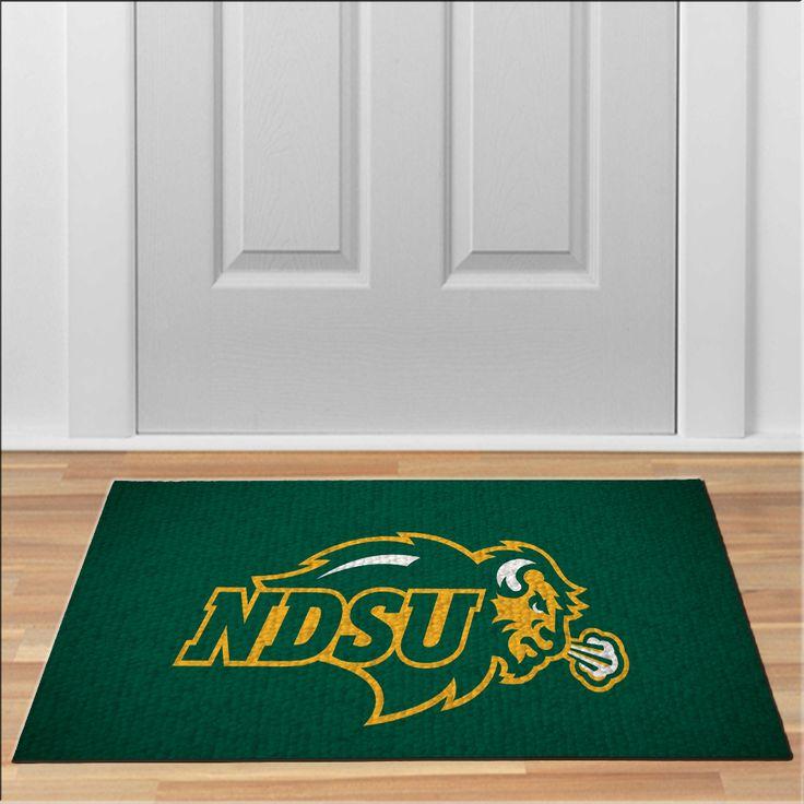 cool NDSU north dakota logo rug Football NCAA Collage Floor Durable Door Mat Non-Slip