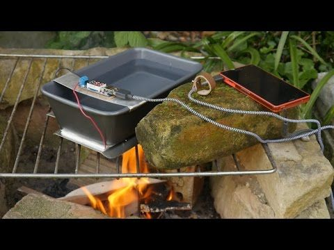 How to make a Thermoelectric Generator - YouTube