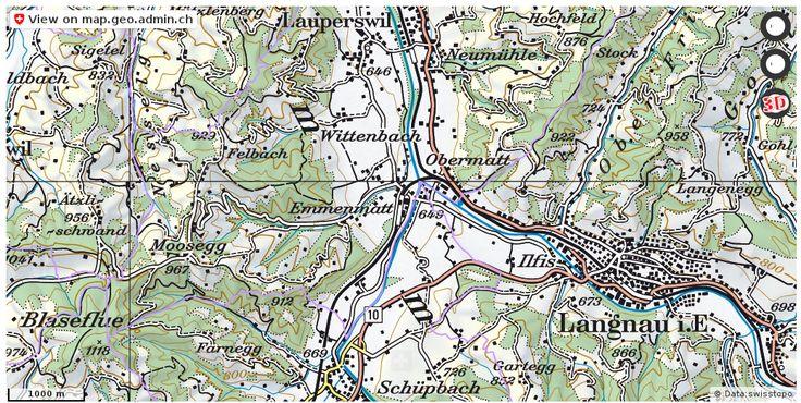 Lauperswil BE Grenze Gemeinde download http://ift.tt/2pvIbLv #maps #schweiz