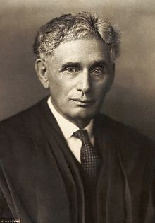 Louis Dembitz Brandeis (November 13, 1856 – October 5, 1941) was an Associate Justice on the Supreme Court of the United States from 1916 to 1939 and the first Jewish Justice