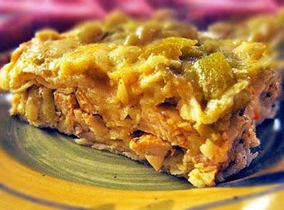 Chicken Enchilada Casserole - New Mexico Style