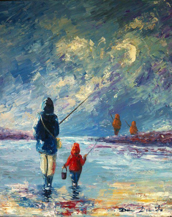 81 best peinture au couteau images on pinterest peinture abstraite aquarelle et aquarelles - Peinture sur toile facile a realiser ...