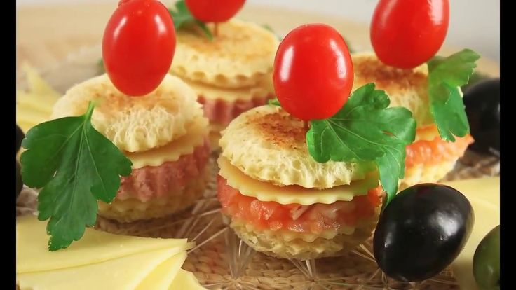 Canapé For Your Party. Simple and Very Tasty