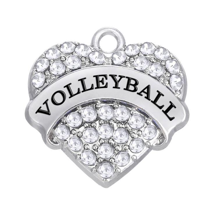 Волейбол ювелирные изделия подарки прелести с кристаллами