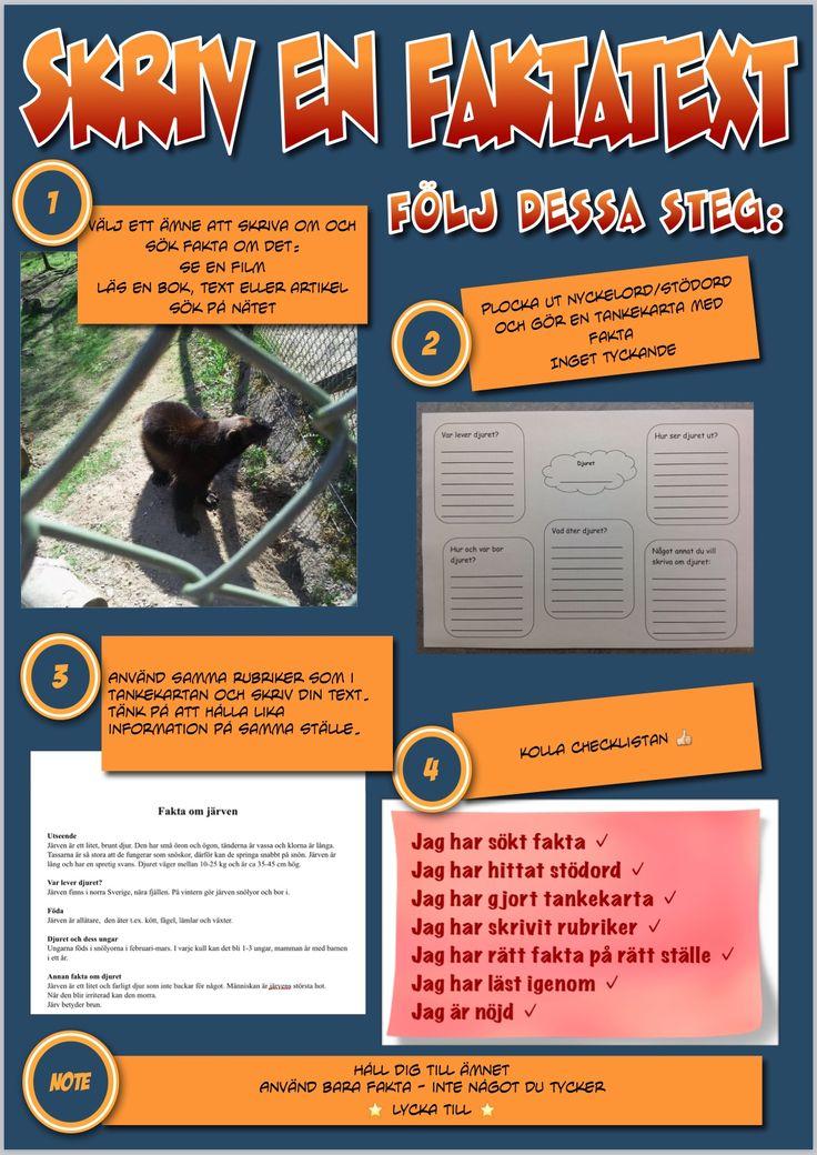 Checklista faktatext | höjdarna0506