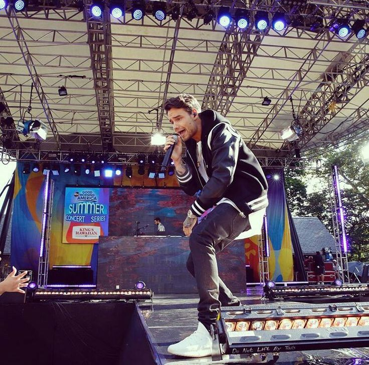 Liam performing on Good Morning America!