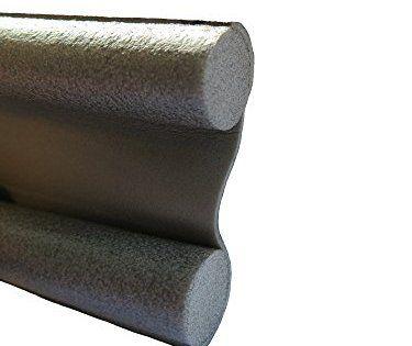 Boudin de porte pour sols lisses, fond joint de porte, découpable 95 cm, Bourrelet, économies d'énergie: • Boudin de porte pratique avec…