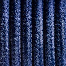 Przewód zasilający Amerykańska Borówka od Kolorowe Kable- ciemnogranatowy kabel - casa-bella - oświetlenie to nasza pasja