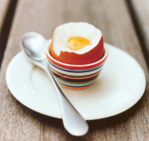 #Kieliszek do jajka na miękko #Origo pomarańczowe.