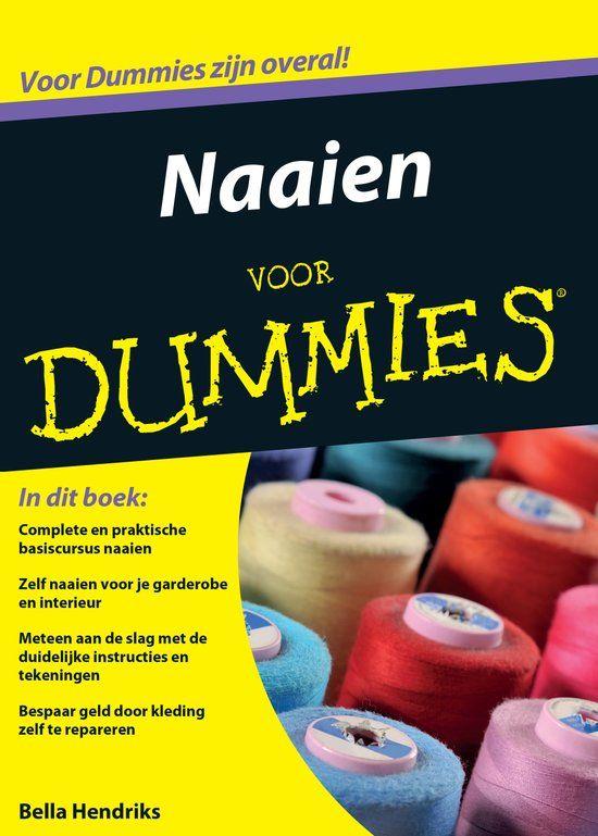 Voor Dummies - Naaien voor Dummies