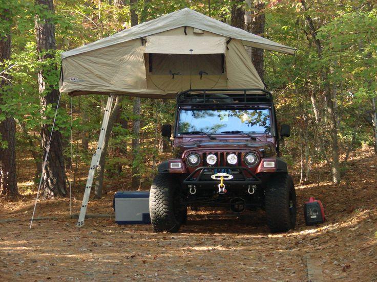 Tj Roof Rack Reviews Jeepforum Jeep Wrangler Tent Jeep