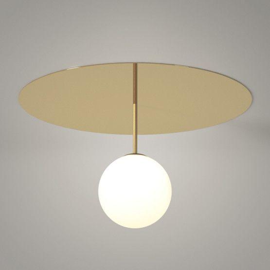 Plafonnier Plate sphere de l'atelier Areti -★-
