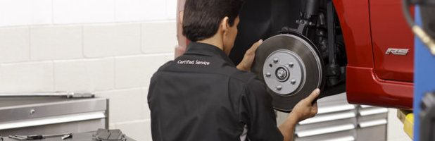 Checking your brake pads and rotors VadenCares.com. #DanVadenChevrolet #Savannah