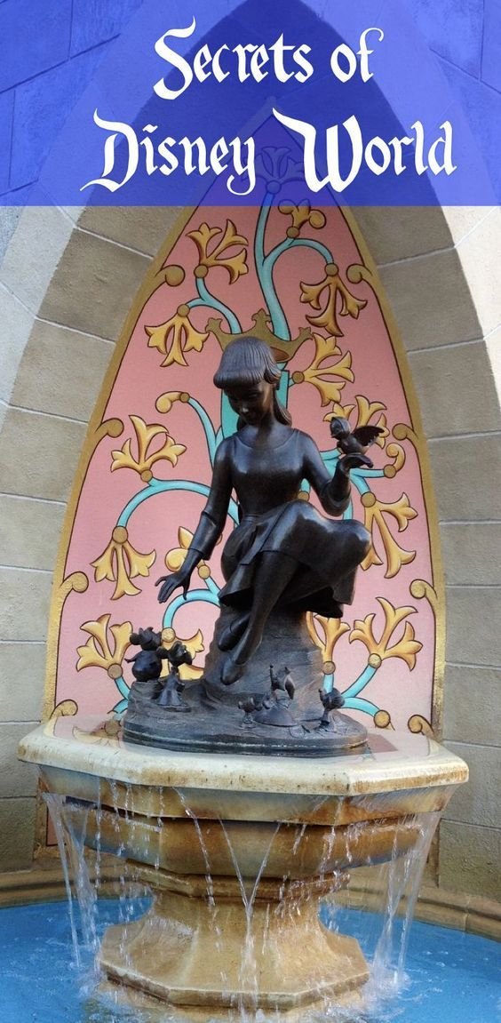 The details in the Disney Parks are one of the reasons why we keep going back.Here are some of the thousands of incredible Disney Secrets at Walt Disney World (without photos, as we don't want to spoil the magic!)